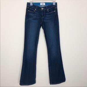 Paige Bootcut Jeans Skyline